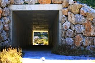 Túnel bajo la autovía